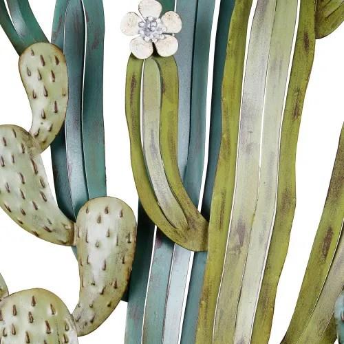 Lampade da parete ed applique lampade da tavolo lampade da pavimento lampade da ufficio illuminazione da esterni altri decorazione. Decorazione Da Parete Cactus In Metallo 136x68 Cm Atacama Maisons Du Monde