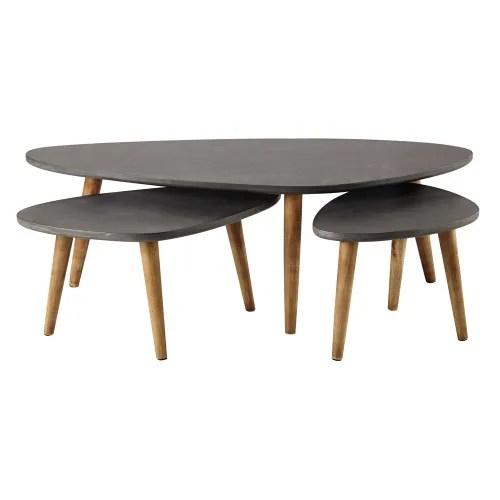 grey tables maisons du monde