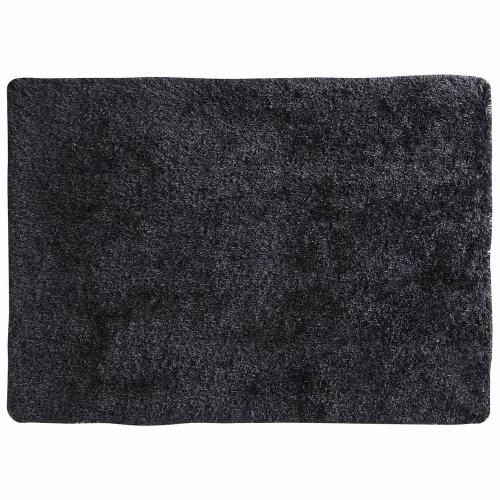 hochflor teppich aus stoff anthrazit 200x300 maisons du monde