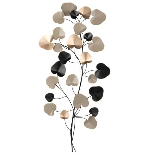 Scegli la consegna gratis per. Metal Tricoloured Branch Wall Art 40x94 Eucaly Maisons Du Monde