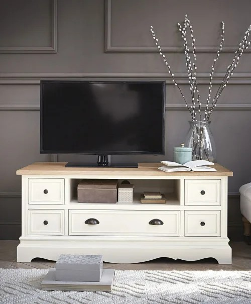 meuble tv creme maisons du monde
