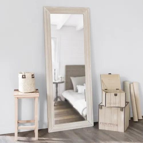 miroir en paulownia 59x145 maisons du monde