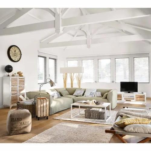Visualizza altre idee su mobili ikea, ikea, mobili. Mobiletto Bianco In Metallo L 75 Cm Mistral Maisons Du Monde