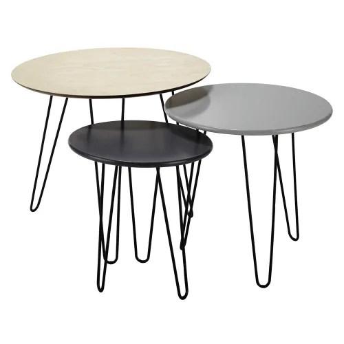 nest of tables maisons du monde