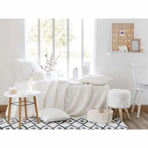 Per cambio arredamento negozio vendo sedie vintage, marca maisons du monde. Off White Soft Blanket 150x230 Fairy Maisons Du Monde