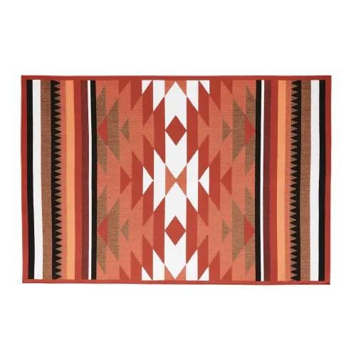 outdoor teppich mit grafischen motiven 160x230 maisons du monde