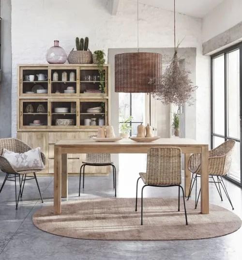 Chaise maisons du monde sélection d assise confortables et tendance. Poltrona In Rattan Intrecciato Zia Maisons Du Monde