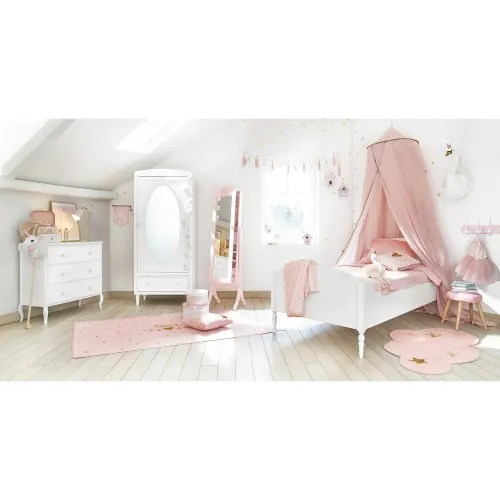 maisons du monde location +32 9 247 77 78. Printed Pink And Gold Cotton Rug 120x180 Lilly Maisons Du Monde