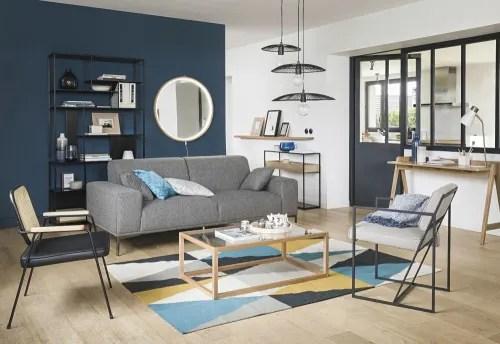 Si adatta a bagno, sala da pranzo, ufficio, dormitorio, soggiorno o corridoio. Scaffale Nero In Metallo Simply Maisons Du Monde
