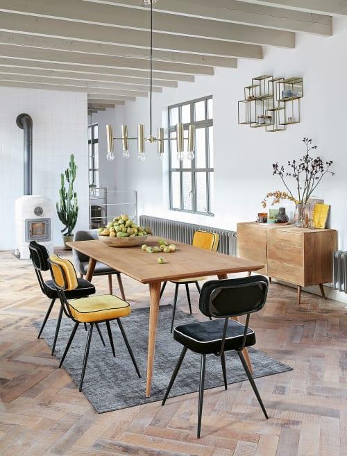 maison du monde sedie in vendita in arredamento e casalinghi: Solid Mango Wood 4 Seater Dining Table L175 Trocadero Maisons Du Monde