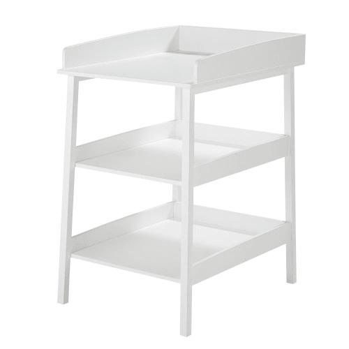 table a langer 3 plateaux blanche maisons du monde