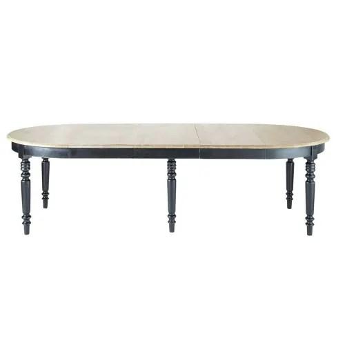 table a manger ronde extensible 6 a 14 personnes l125 325 maisons du monde