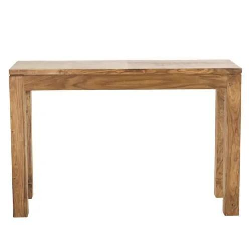 table console en bois de sheesham massif l120 maisons du monde