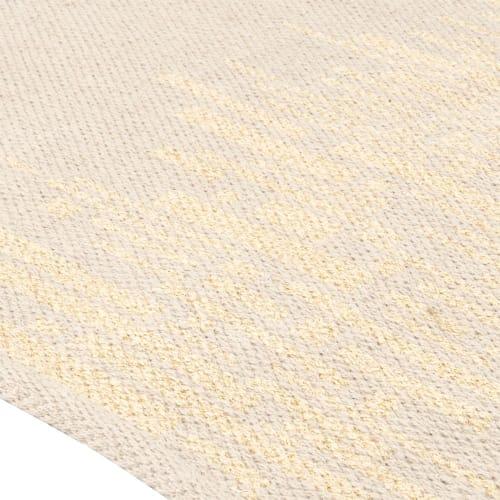 tapis beige et dore 90x150 maisons du monde
