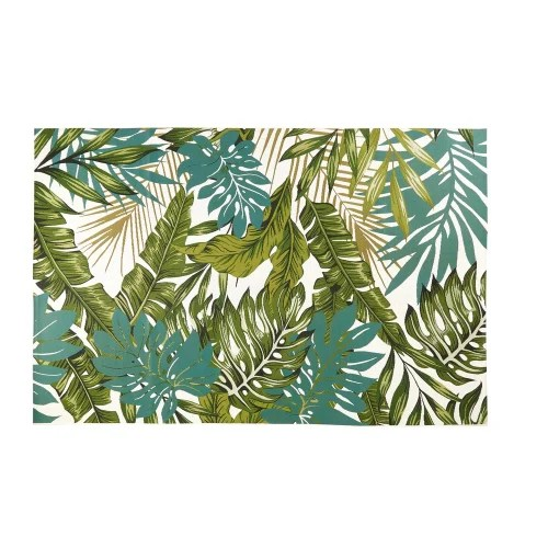 tapis d exterieur imprime tropical 160x230 maisons du monde