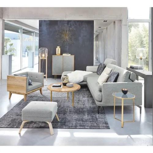 tapis en coton noir 140 x 200 cm maisons du monde