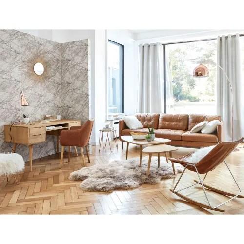 tapis en peau de mouton beige 110x180 maisons du monde