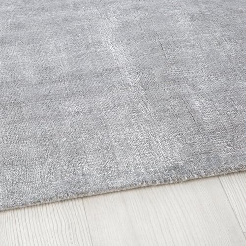 tapis tufte gris 140x200 maisons du monde