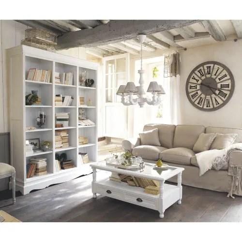 Visualizza altre idee su mobili ikea, ikea, mobili. Tavolo Basso Bianco A 2 Cassetti Josephine Maisons Du Monde
