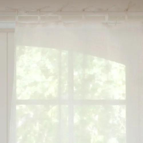 Stendibiancheria a muro leroy merlin; Tenda Ecru In Lino Con Laccetti Al Pezzo 105x300 Cm Maisons Du Monde