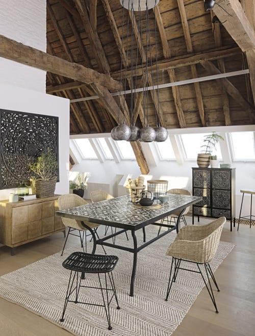 teppich aus baumwolle und jute 140x200 maisons du monde