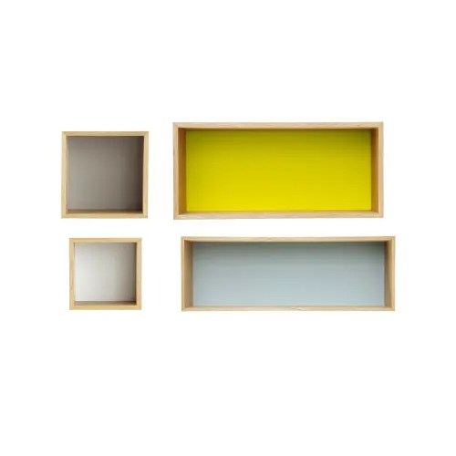 vintage wandregale mehrfarbig x4 maisons du monde