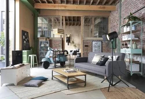 vitrine 2 portes 3 tiroirs en metal vert d eau maisons du monde