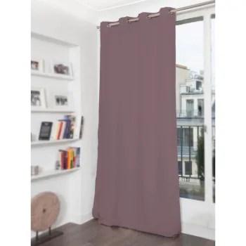 rideau phonique thermique occultant gris 140x300 maisons du monde