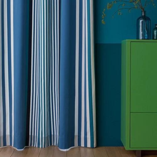 rideau bleu 176x250 maisons du monde
