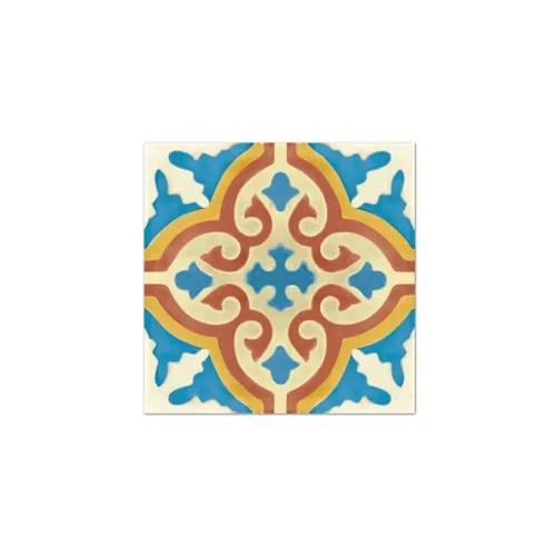 stickers pour carrelage de salle de bain ou cuisine bleu rouge maisons du monde