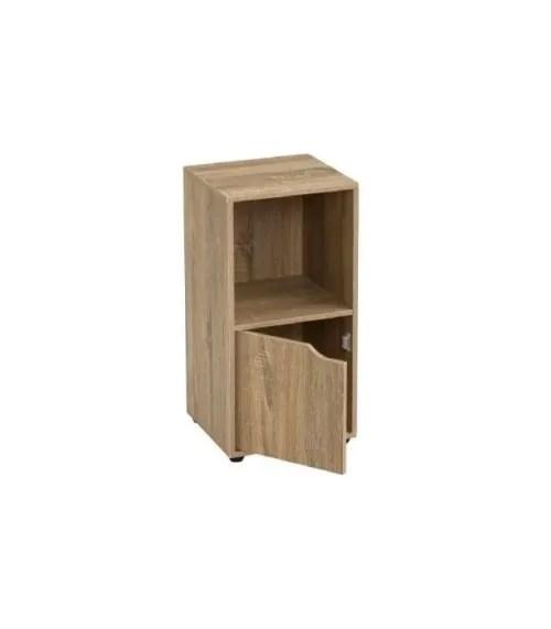 table de chevet en bois avec placard et etagere maisons du monde