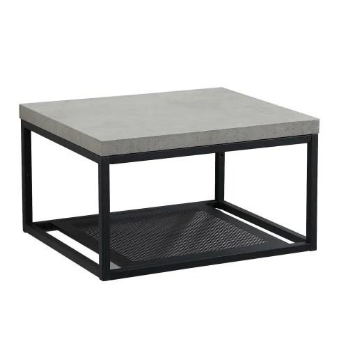 meuble de salle de bain effet beton maisons du monde