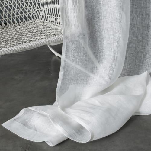https www maisonsdumonde com fr fr p rideau gaze de lin fine blanc 140x270 cm gaze de lin fine m21031877 htm