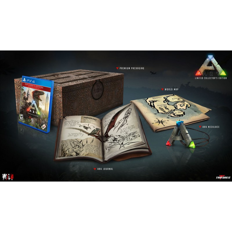 ARK SURVIVAL EVOLVED COLLECTOR EDITION PS4