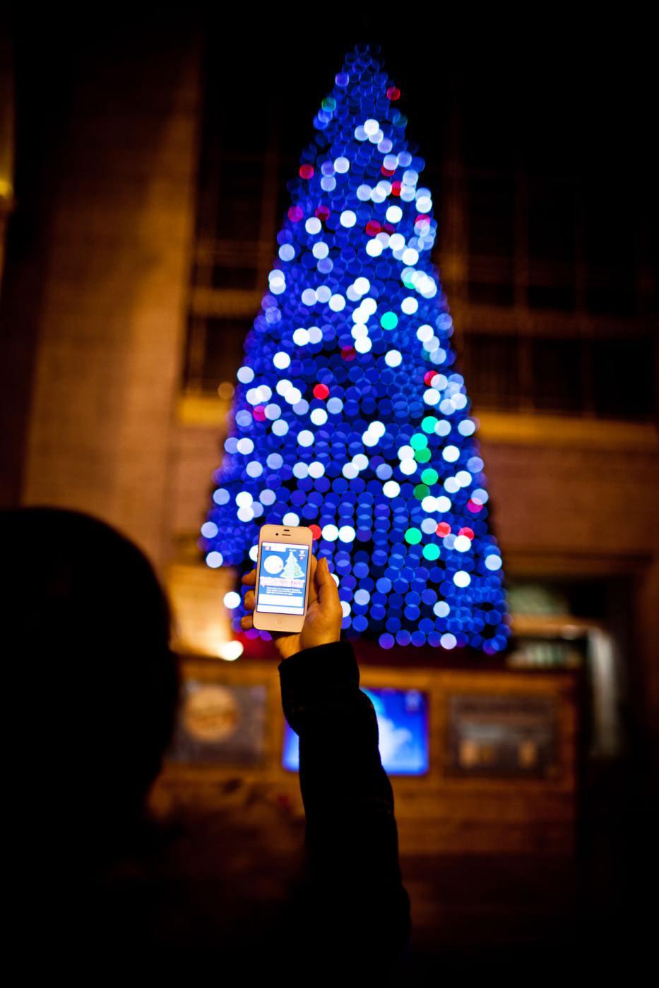 hight resolution of christmas tree union station