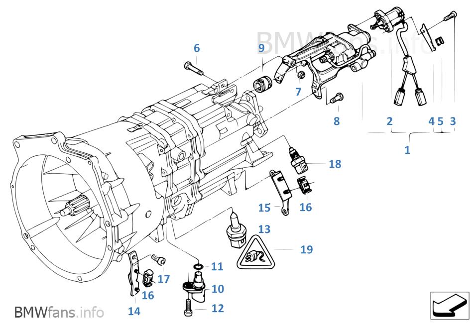 probleme feux de recul sur m3 E46 SMGII / résolu
