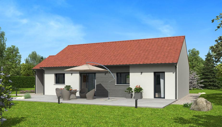 Amazing plan maison architecte with comparatif maison for Alarme maison comparatif
