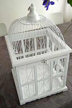 A Louer Grande Urne Cage Oiseau Pour Votre Mariage