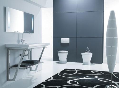 Photo Guide de la salle de bain  Salle de bain design en cramique