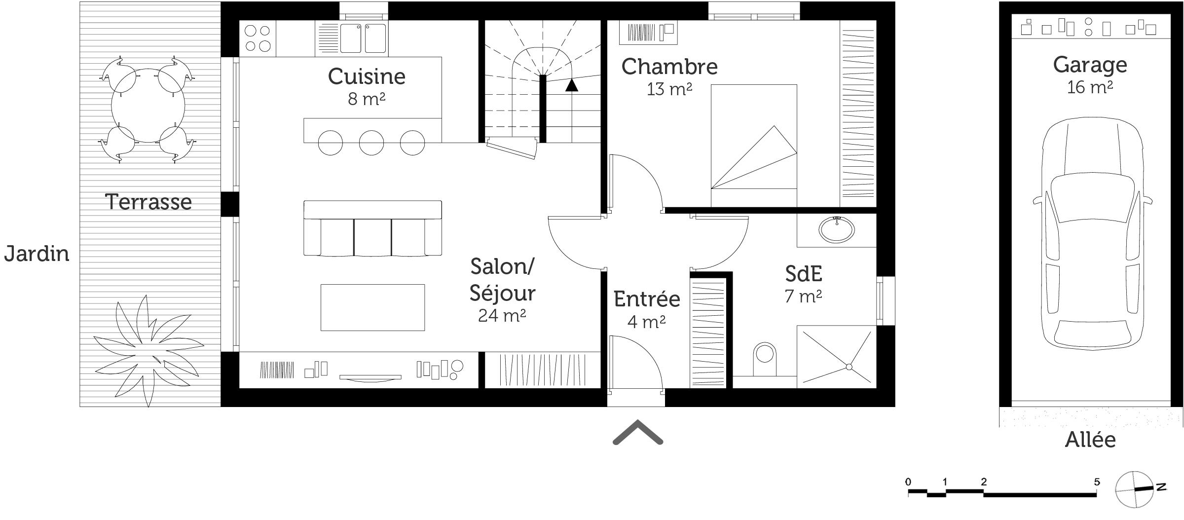 Plan Maison A Etage 3 Chambres