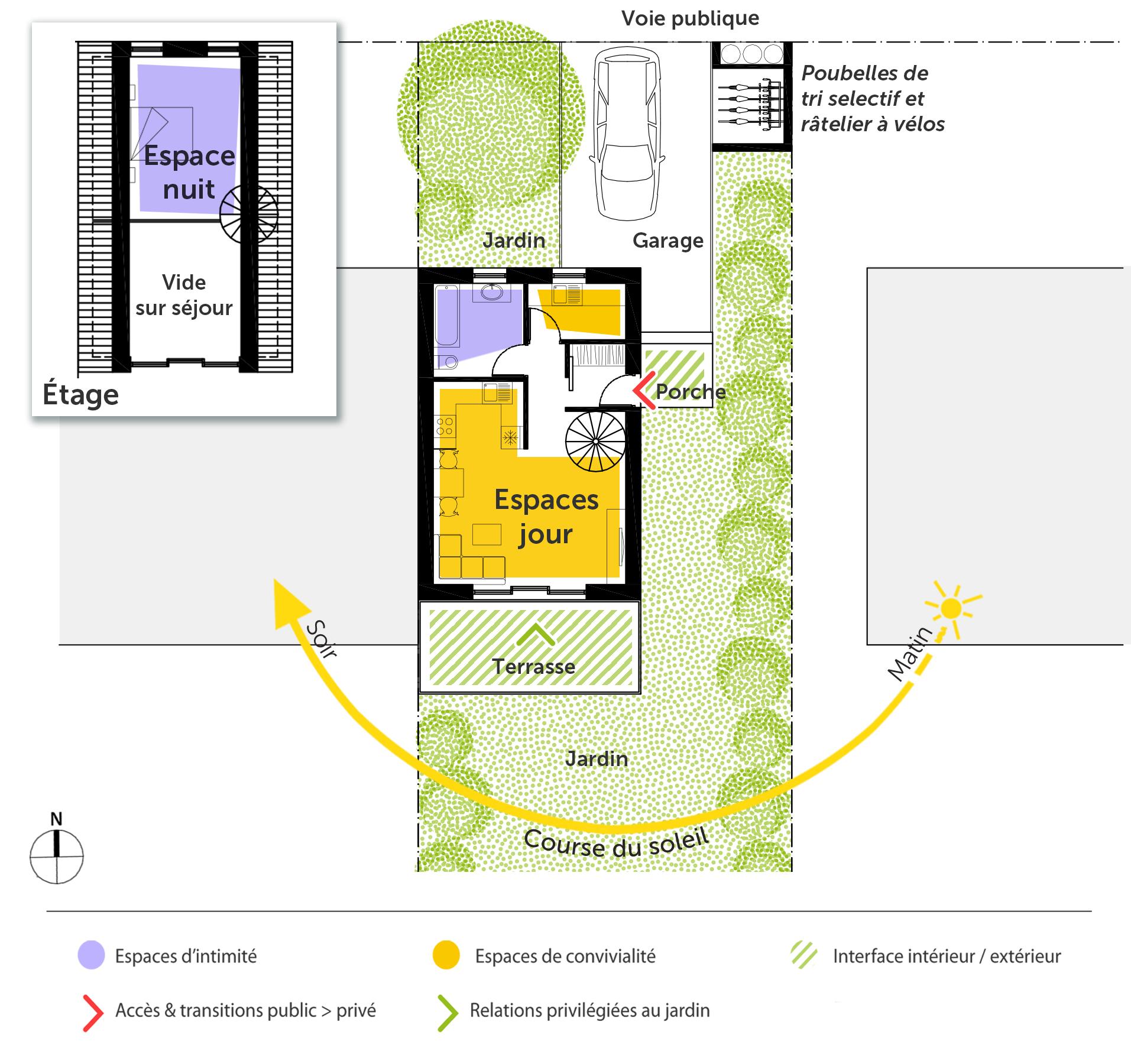 Plan Maison 50 M Rectangulaire Ooreka