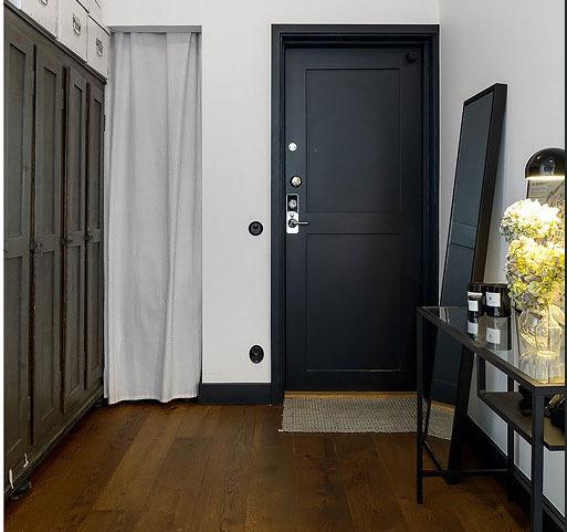 Peinture couloir  conseils selon la taille du couloir  Ooreka