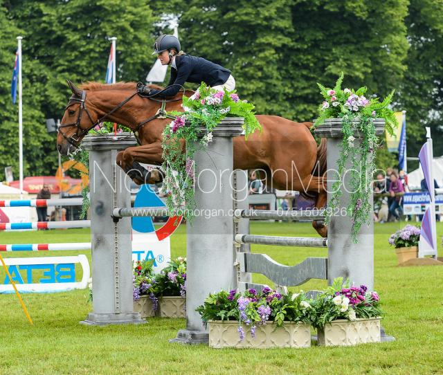 Eliza Stoddart And Dick Omalley Bramham Horse Trials 2018