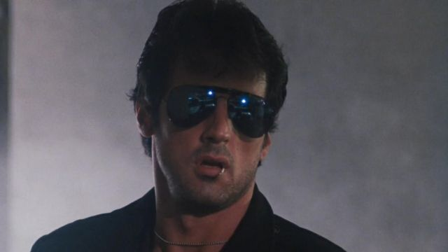 The Ray-Ban Marion Cobretti / Cobra (Sylvester Stallone) in Cobra ...