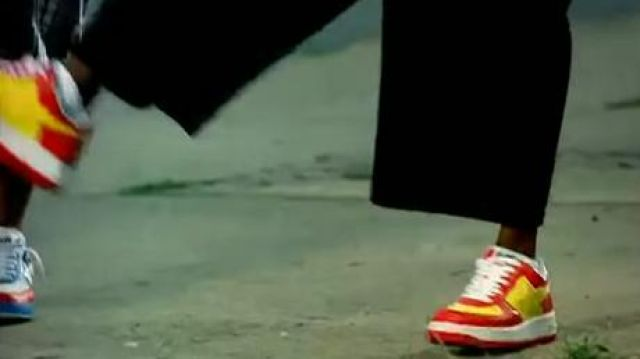 the sneakers bape x