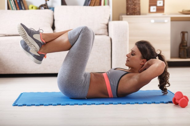 Abs at home in less than 20 minutes!
