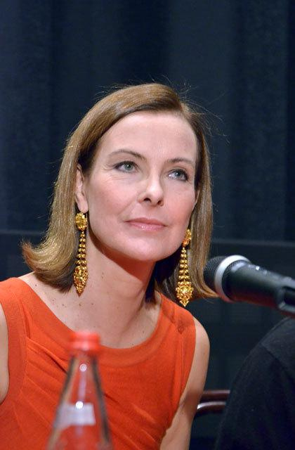 Carole Bouquet in Moscow to launch the French Cinema Today
