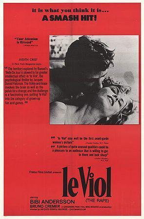 Le Viol The Rape De Jacques Doniol Valcroze 1967