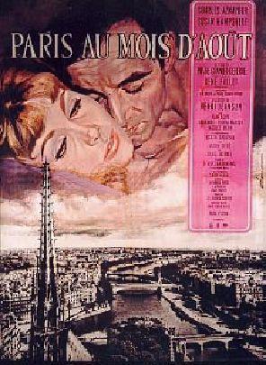Paris Au Mois D'aout Film : paris, d'aout, Paris, D'août, Pierre, Granier-Deferre, (1965), UniFrance