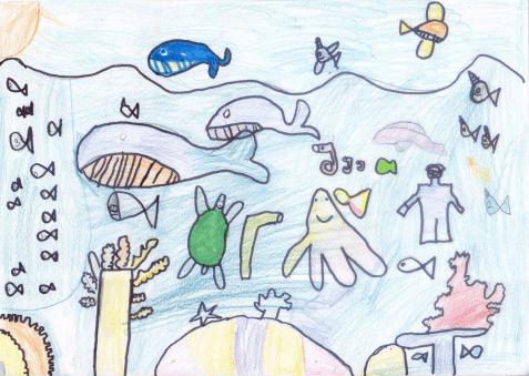 Dessin école primaire de la Réunion et de Mayotte